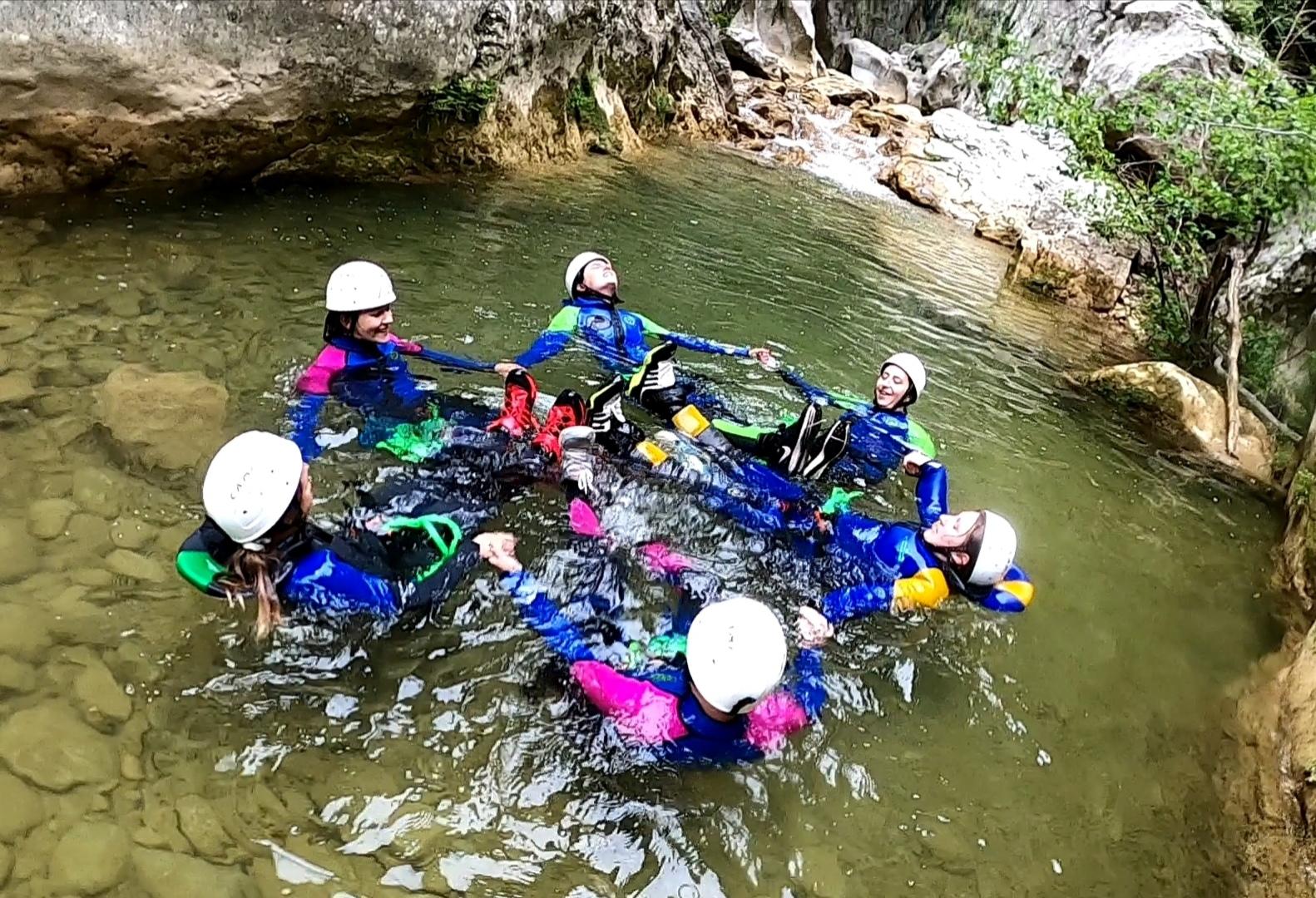 groupe canyoning ami
